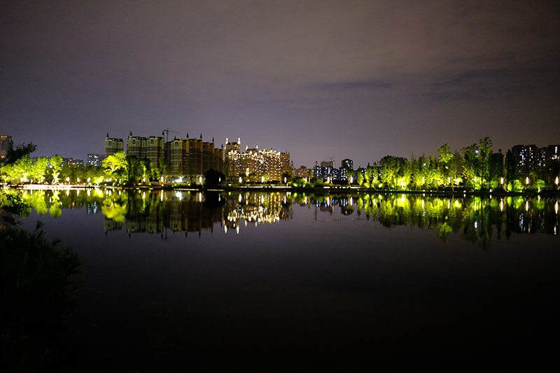 Mirror Lake Night View